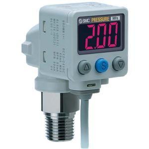 SMC ISE80H-02-B 2-color digital press switch for fluids