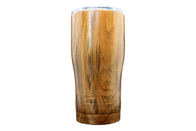 20oz Wood Grain Tumbler-Front