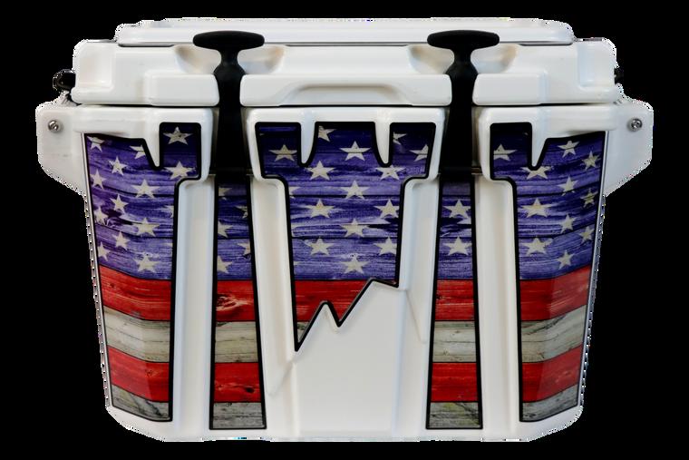 USA Flag Color Side Kick - Front