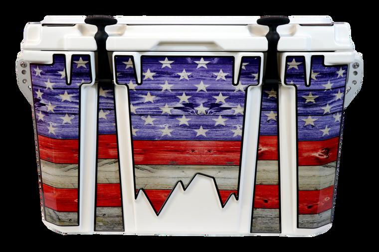 USA Flag Color Adventurer - Front