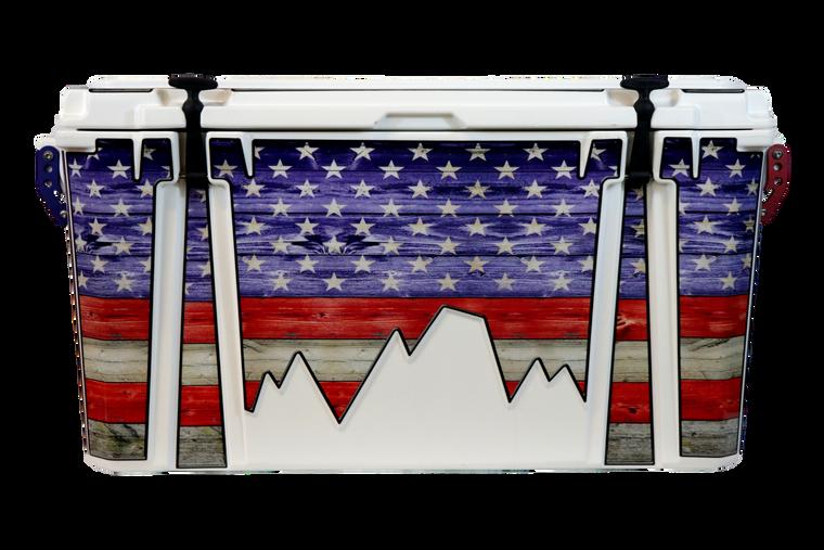 USA Flag Color Journey - Front