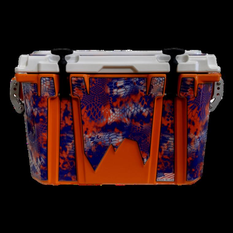 Adventurer 48 qt  Kryptek Orange/Blue Cooler