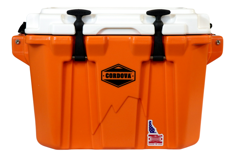 Orange Side-Kick-Front