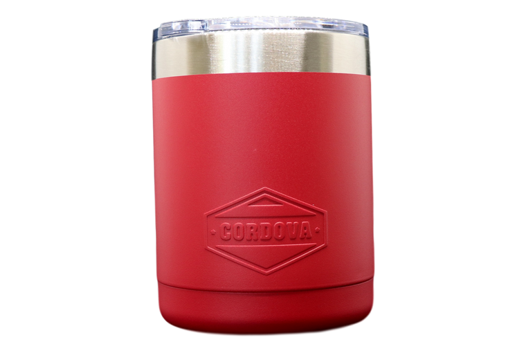 10oz Red Tumbler-Front