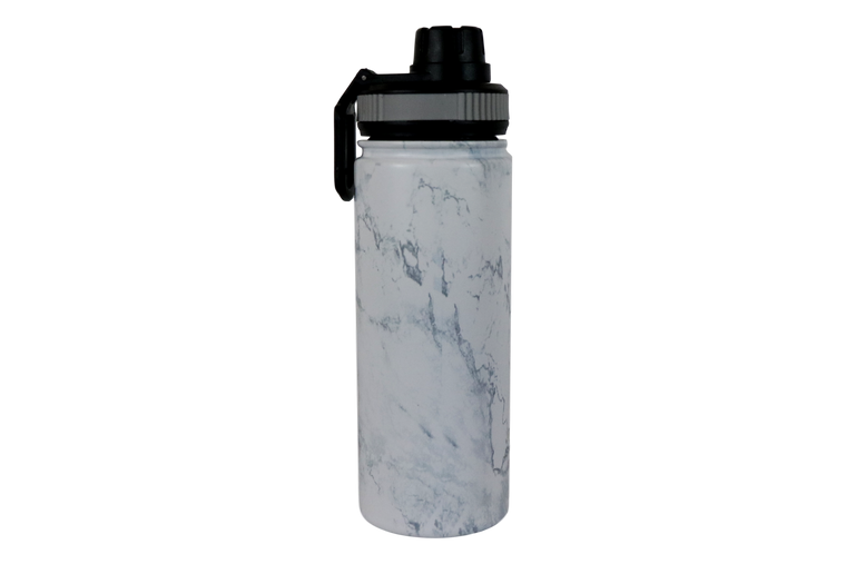 18oz Marble Water Bottle-Back