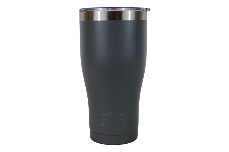 30oz Charcoal Gray Tumbler-Front