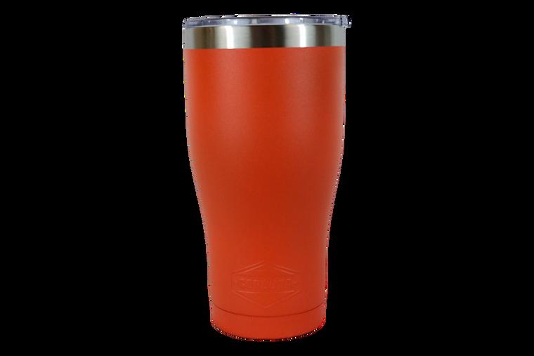 30oz Orange Tumbler-Front