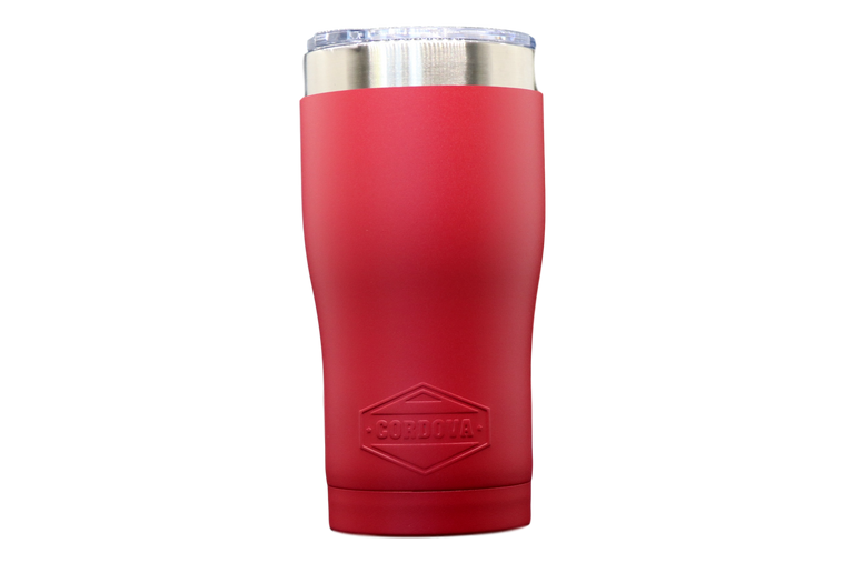 20oz Red Tumbler-Front