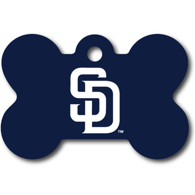 San Diego Padres Bone Shaped Dog ID Tags