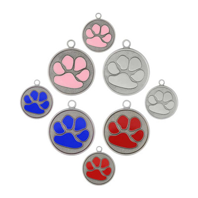 dogIDs Signature Tough Paw Dog ID Tags - Group Photo