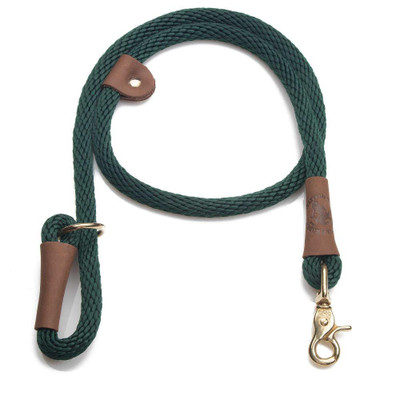 sage green designer dog leash