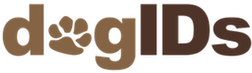 dogID's logo - dog collars, pet id tags, leashes & more