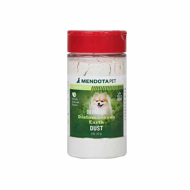 DERMagic Diatomaceous Earth Flea Dust 2 oz