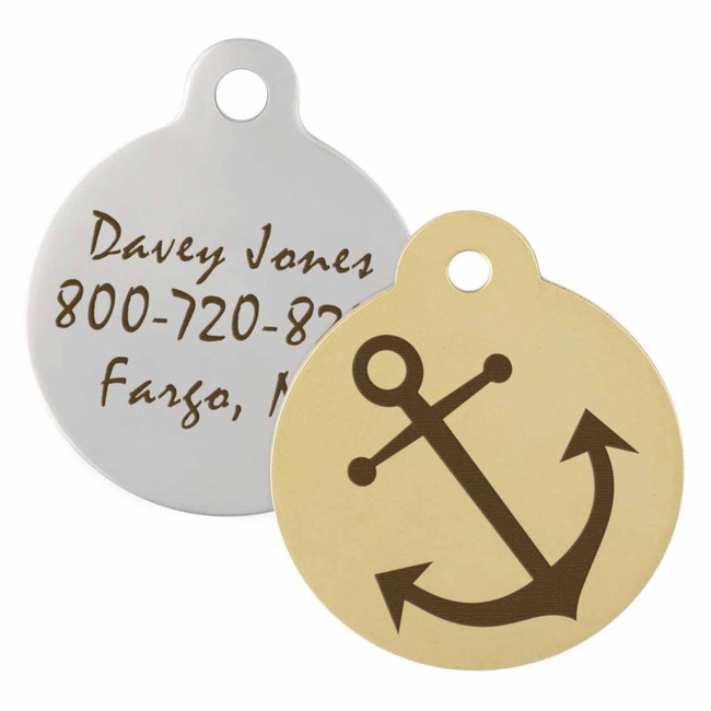 Anchor Dog ID Tag