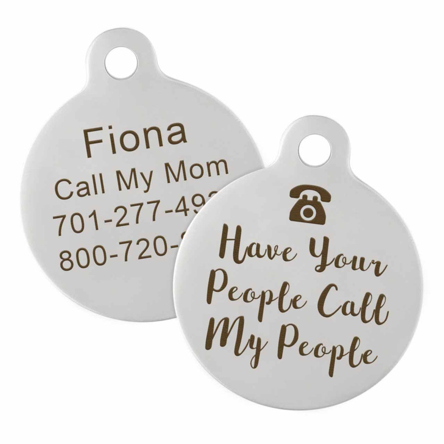 Have Your People Call My People ID Tag