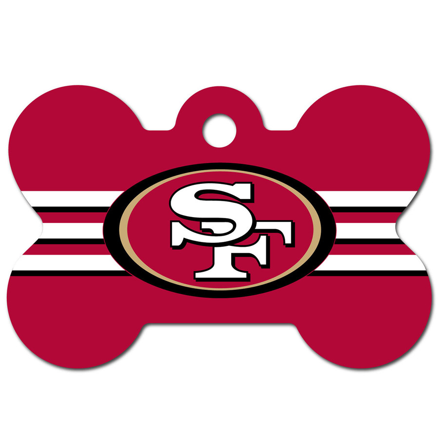 San Francisco 49ers Pet ID Tag