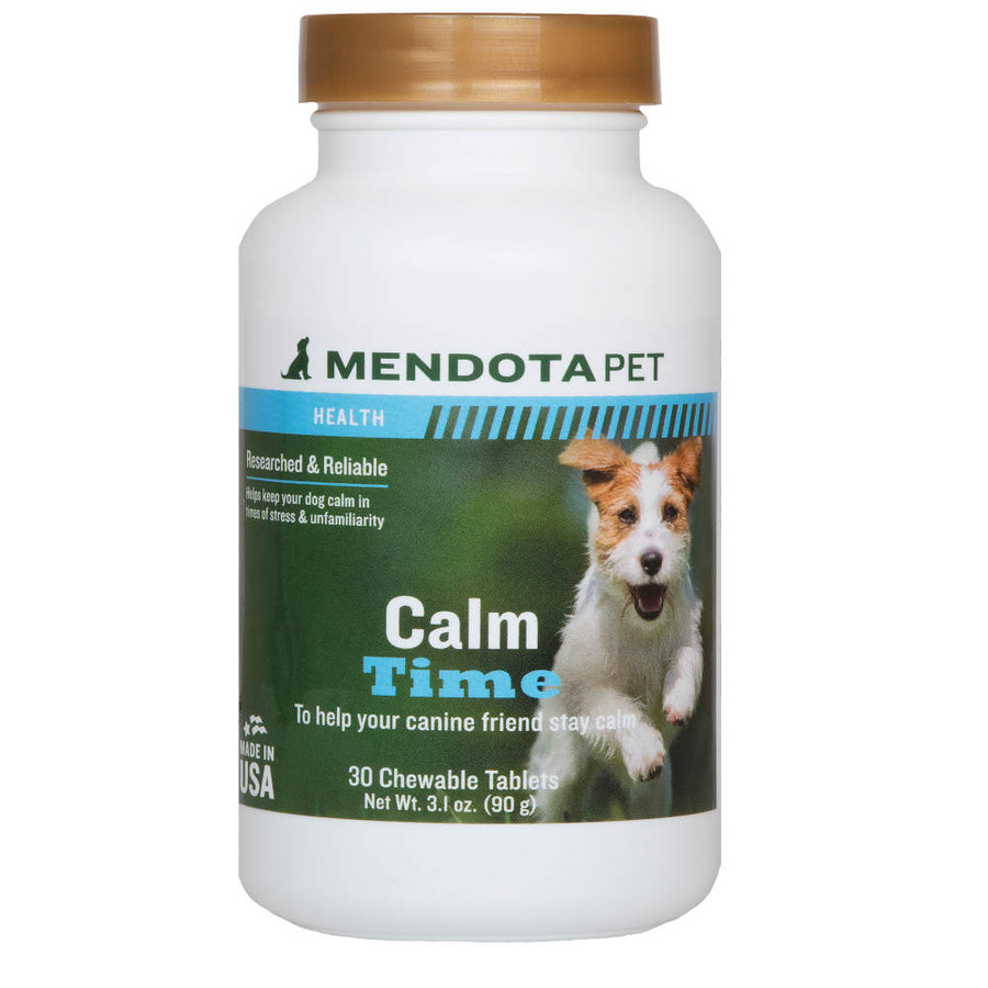 Mendota Pet Health Calm Time Chewable Tablets for Dogs