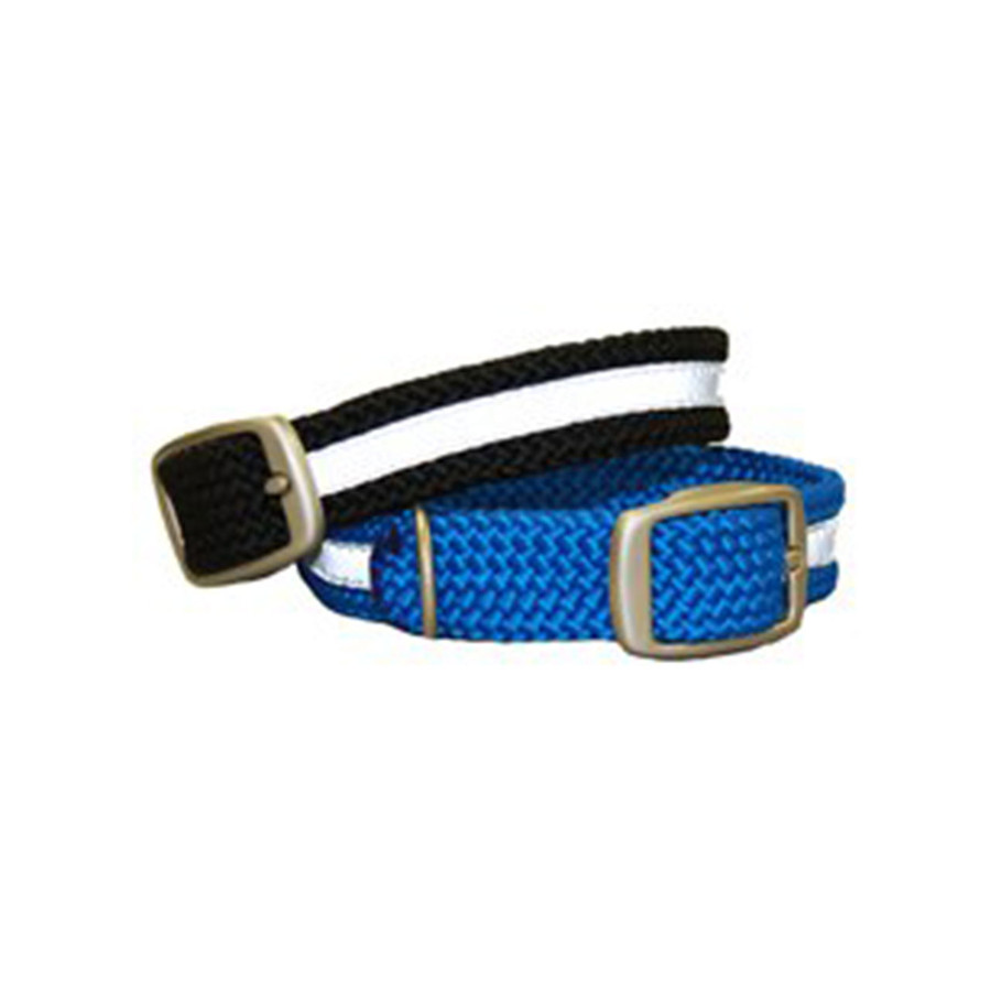 Mendota Double Braid Reflective Dog Collar