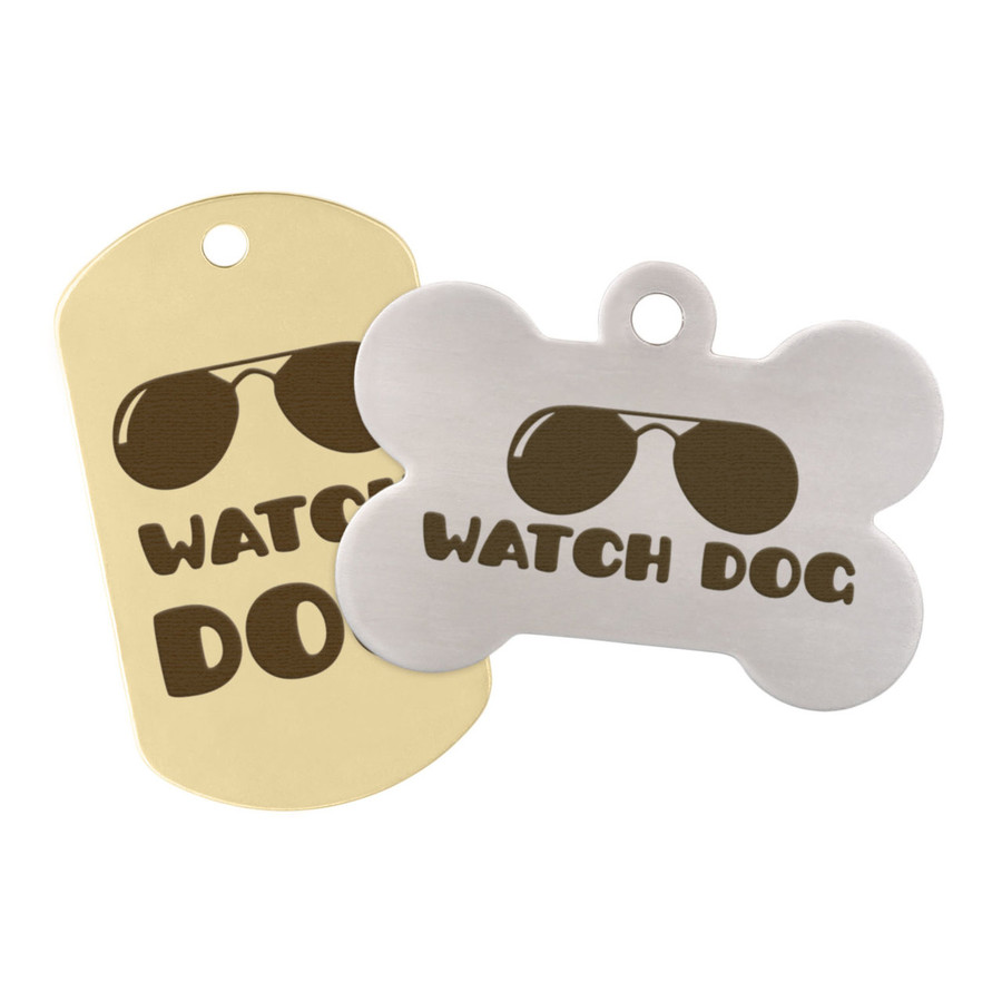 Watch Dog Pet ID Tag
