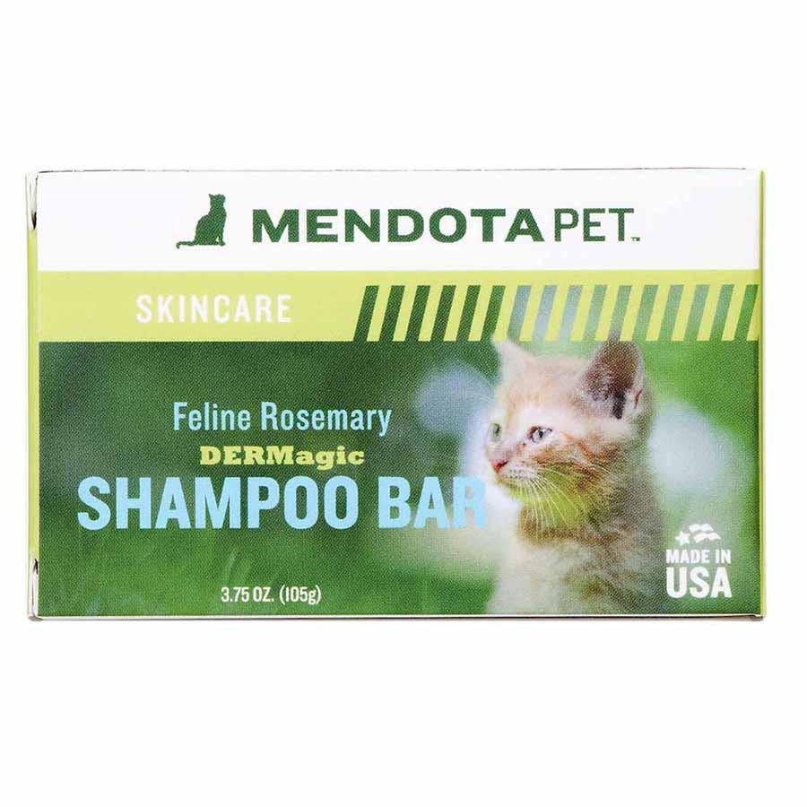 mendota pet feline rosemary soap
