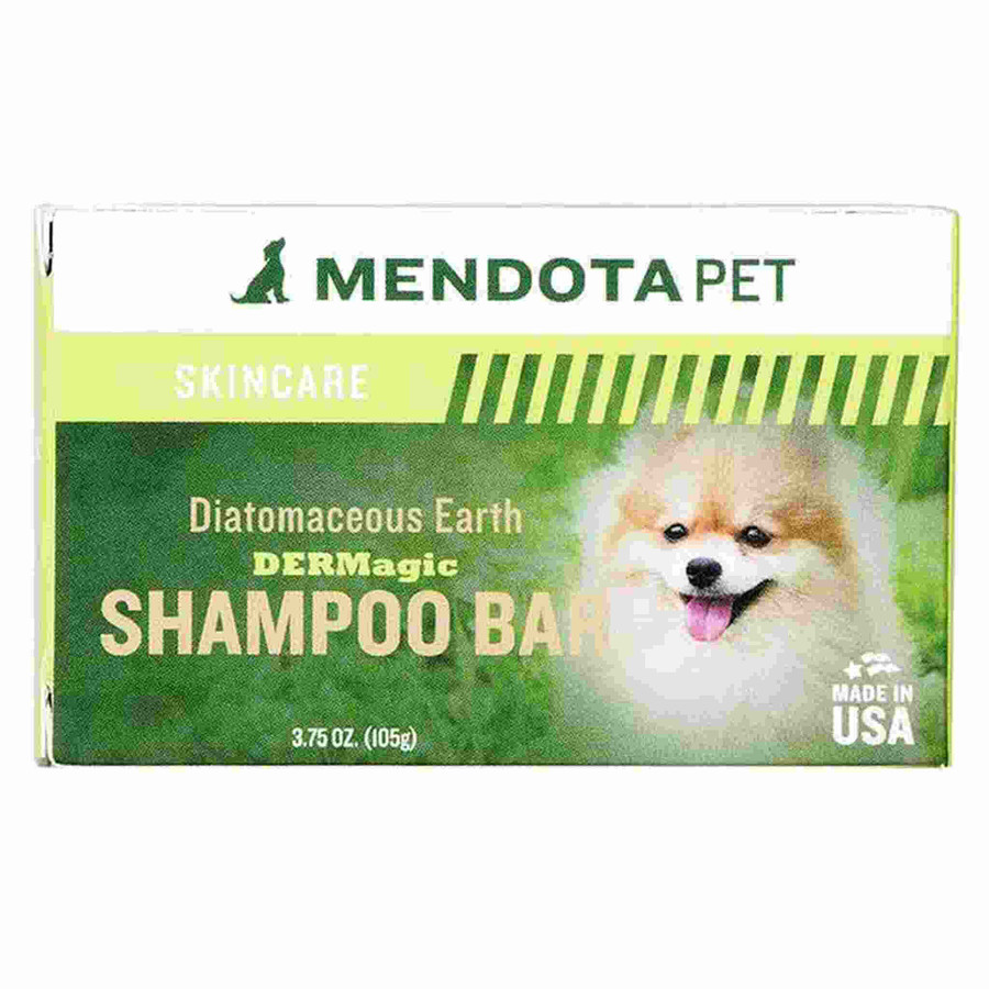 mendota pet dog skincare shampoo bar
