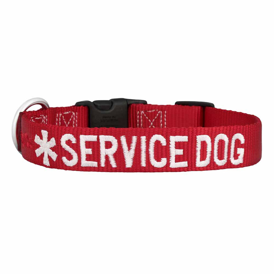 Embroidered Service Dog Collar