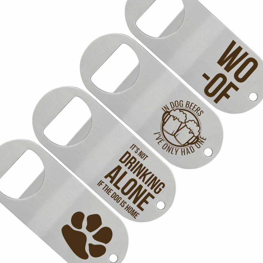 Dog Lover Bottle & Can Opener