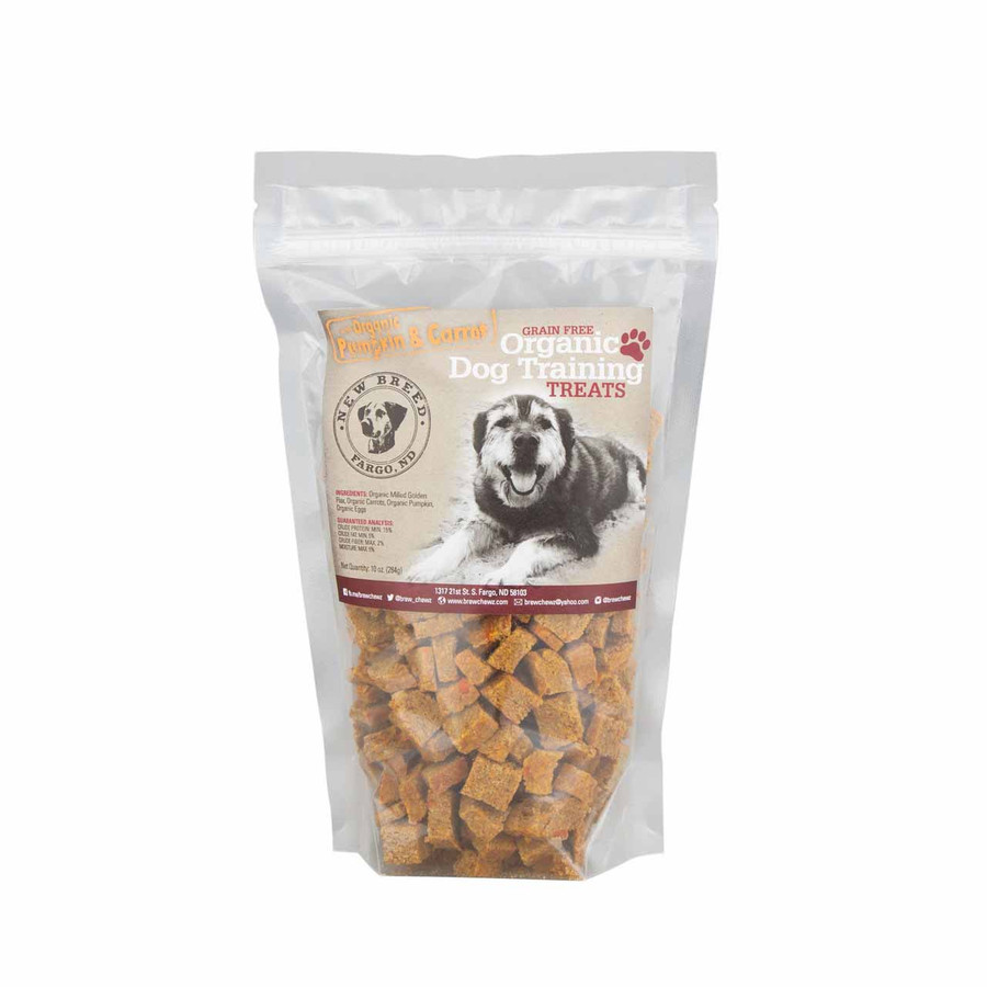Brew Chewz Organic Pumpkin & Carrot Training Treats
