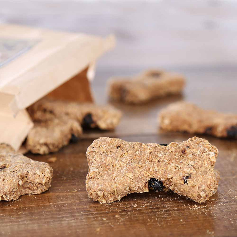 Brew Chewz All Natural Dog Bone Treats-Peanut Butter Blueberry