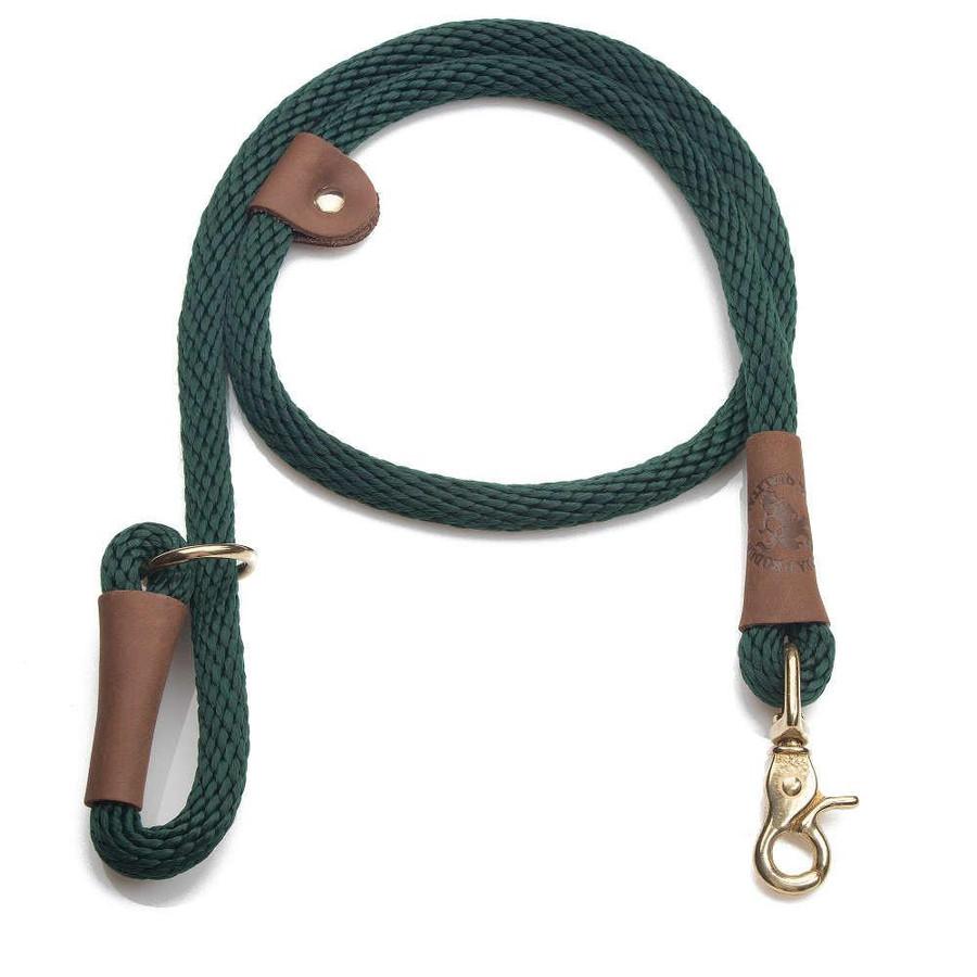sage green designer dog leash