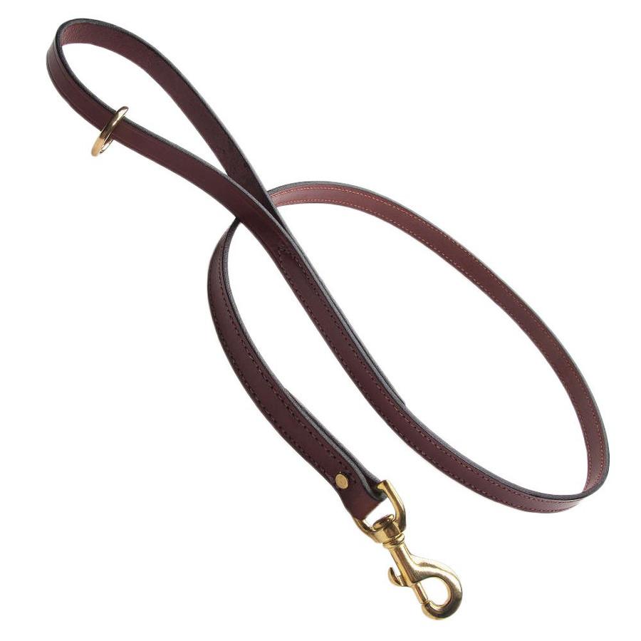 Mendota Leather Snap Lead
