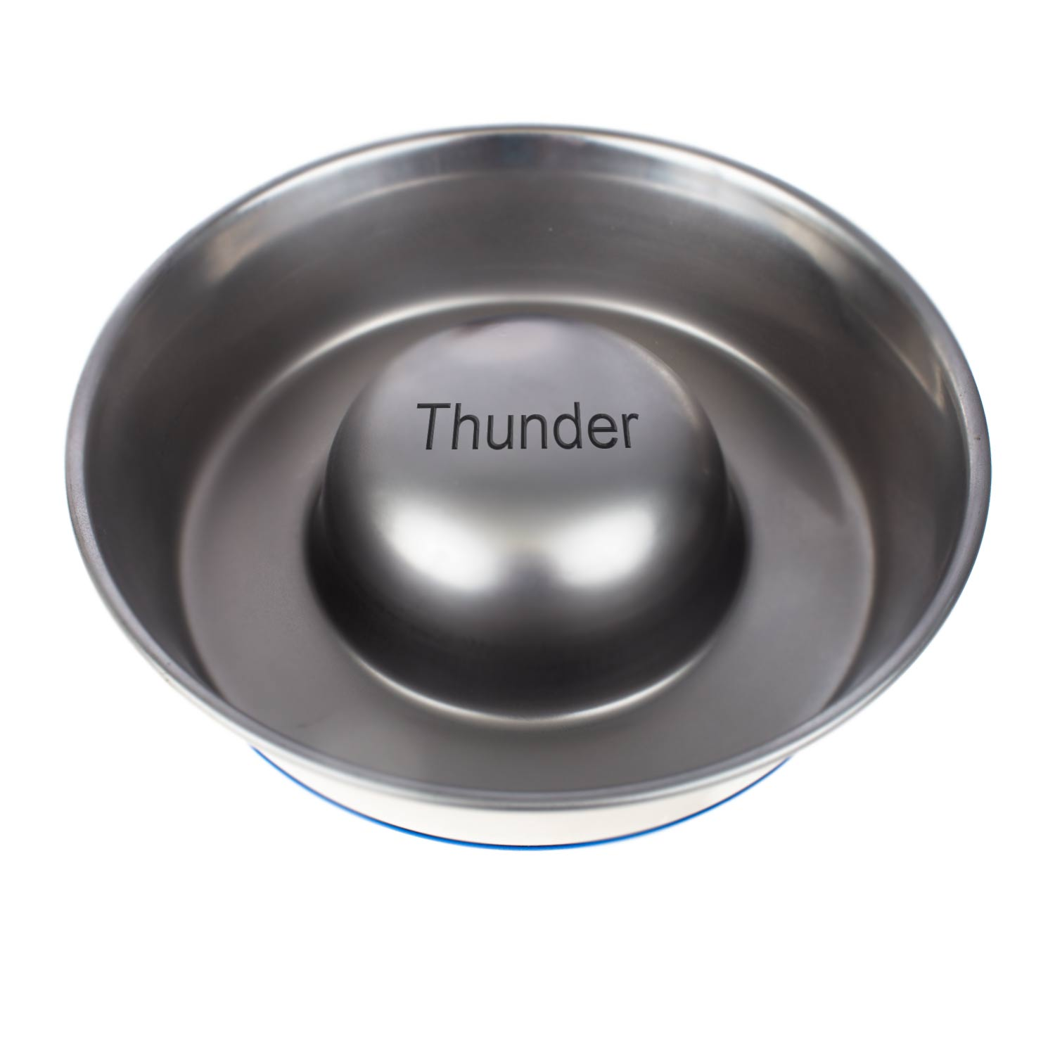Stainless Steel Bowl Slow feeder large