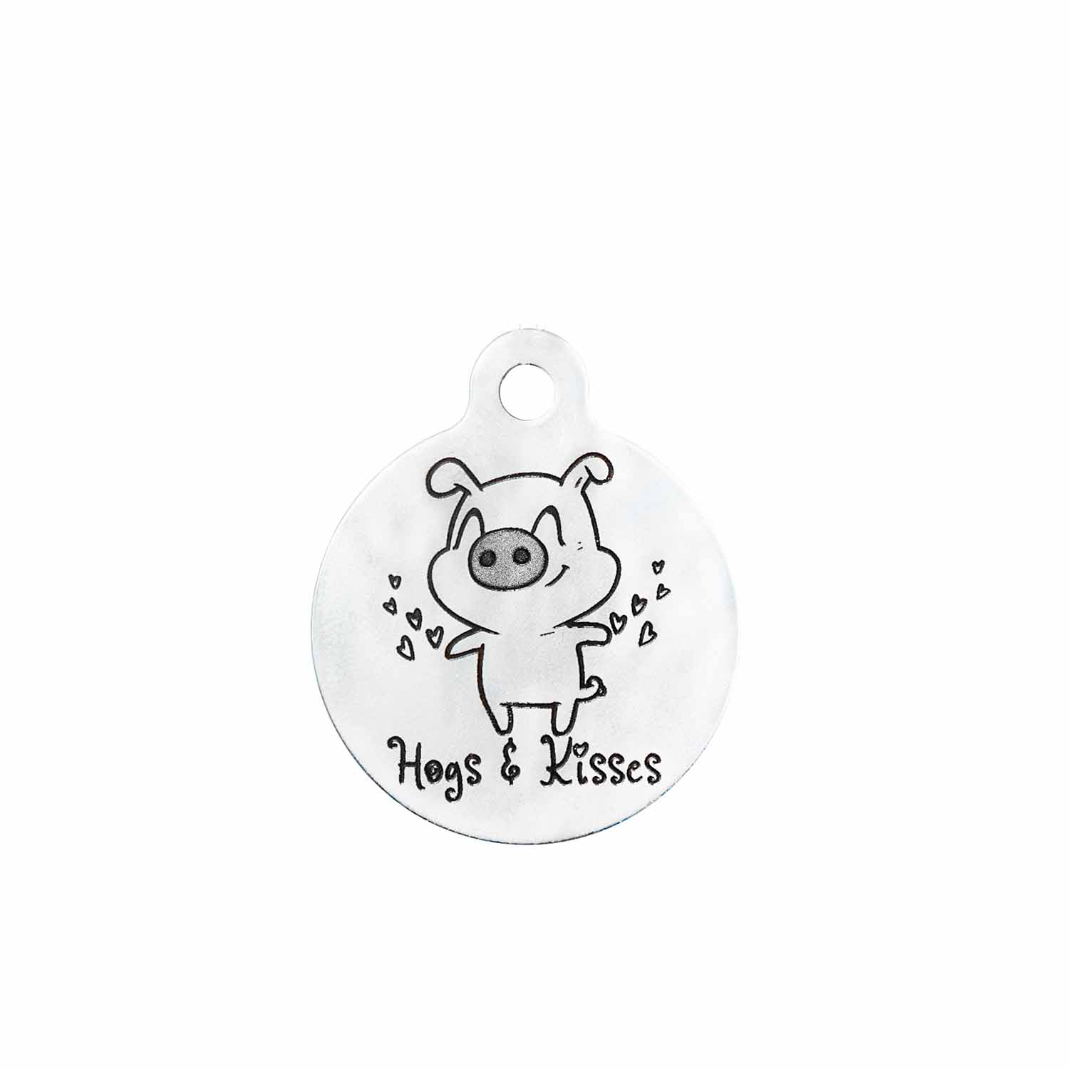Hogs & Kisses Tag