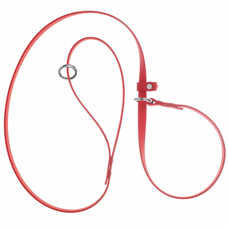 Waterproof Slip Leash Red