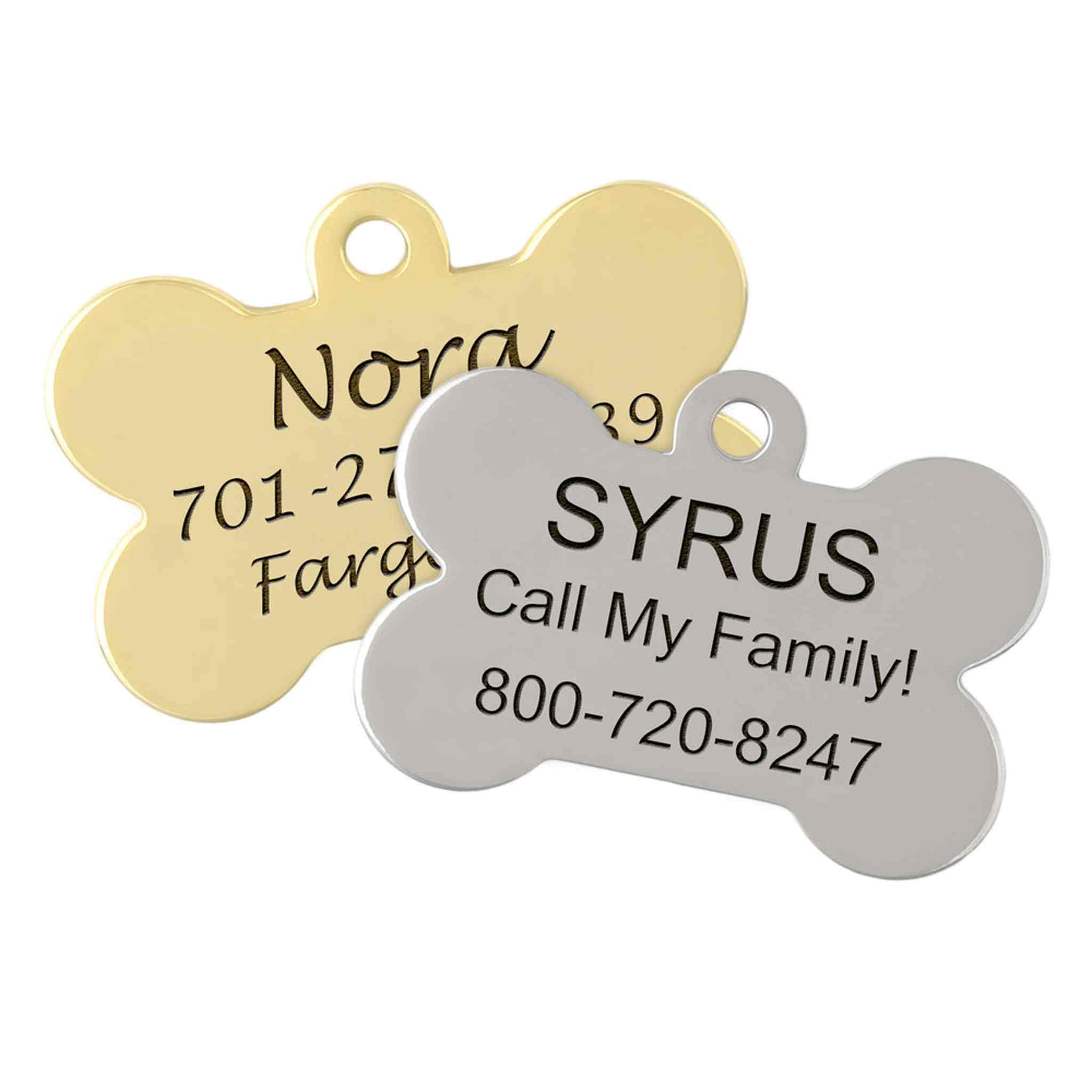 Bone Dog ID Tags