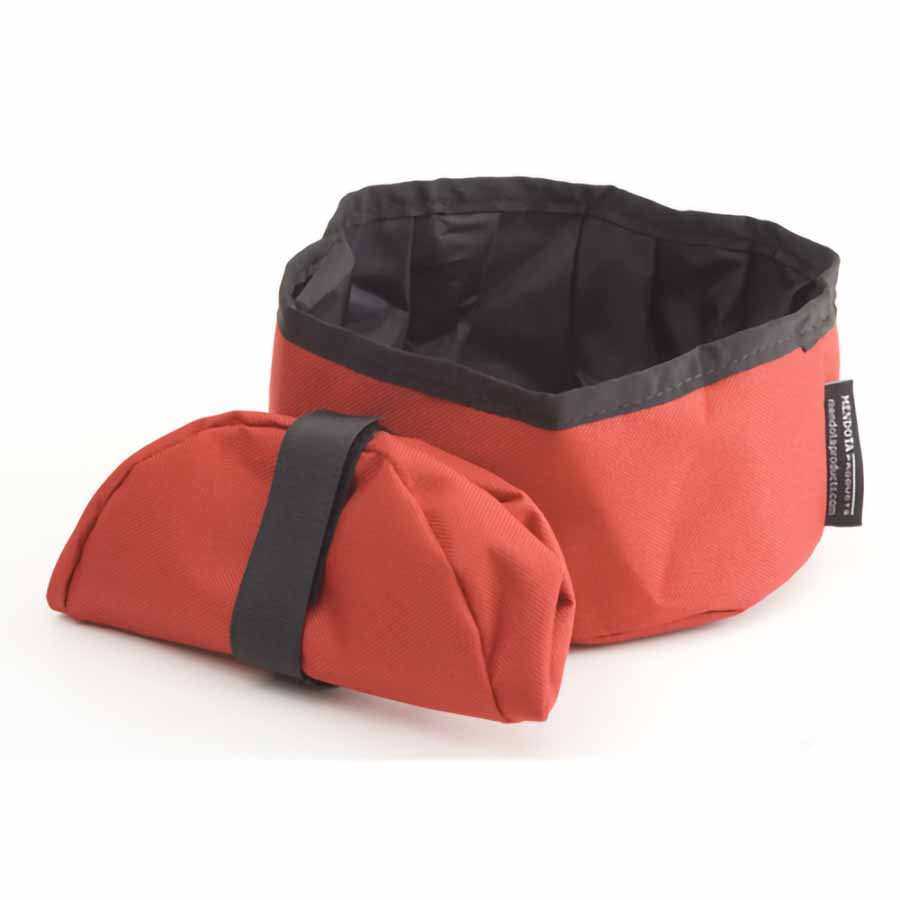Collapsible Dish Red