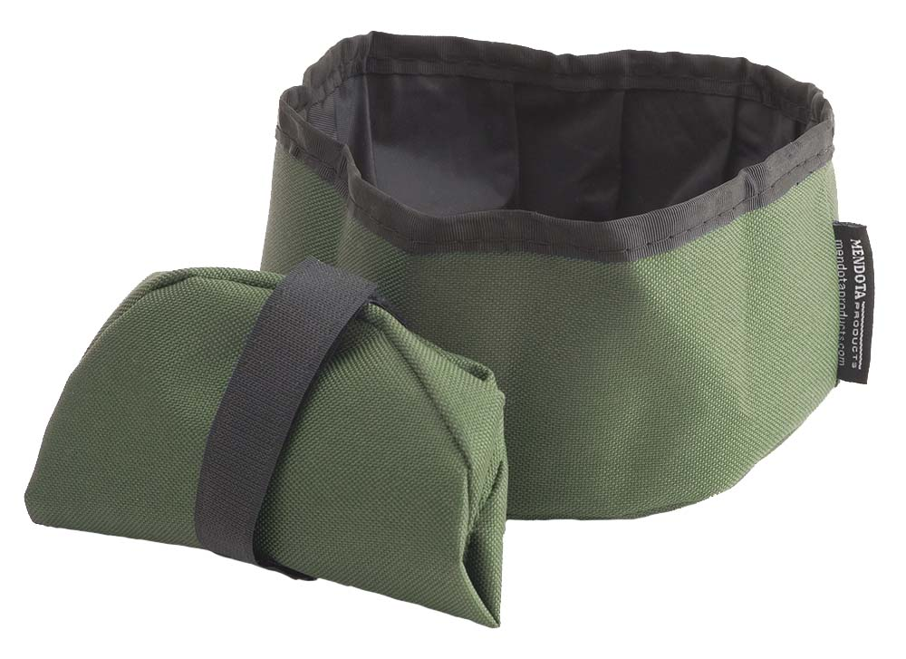 Collapsible Dish Olive Green