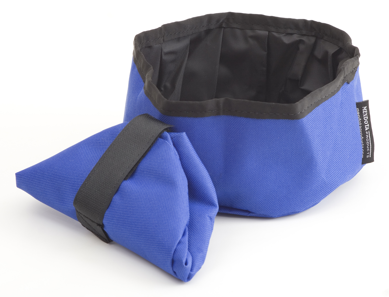 Collapsible Dish Blue