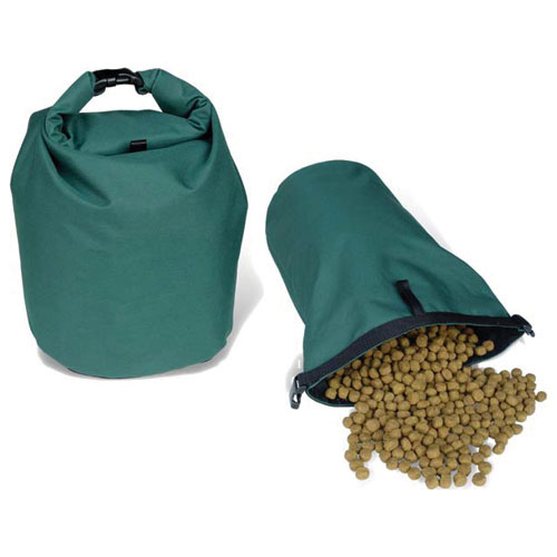 Personalized Dog Food Travel Bag Green