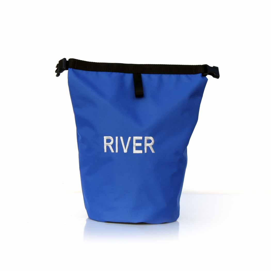 Personalized Dog Food Travel Bag Blue