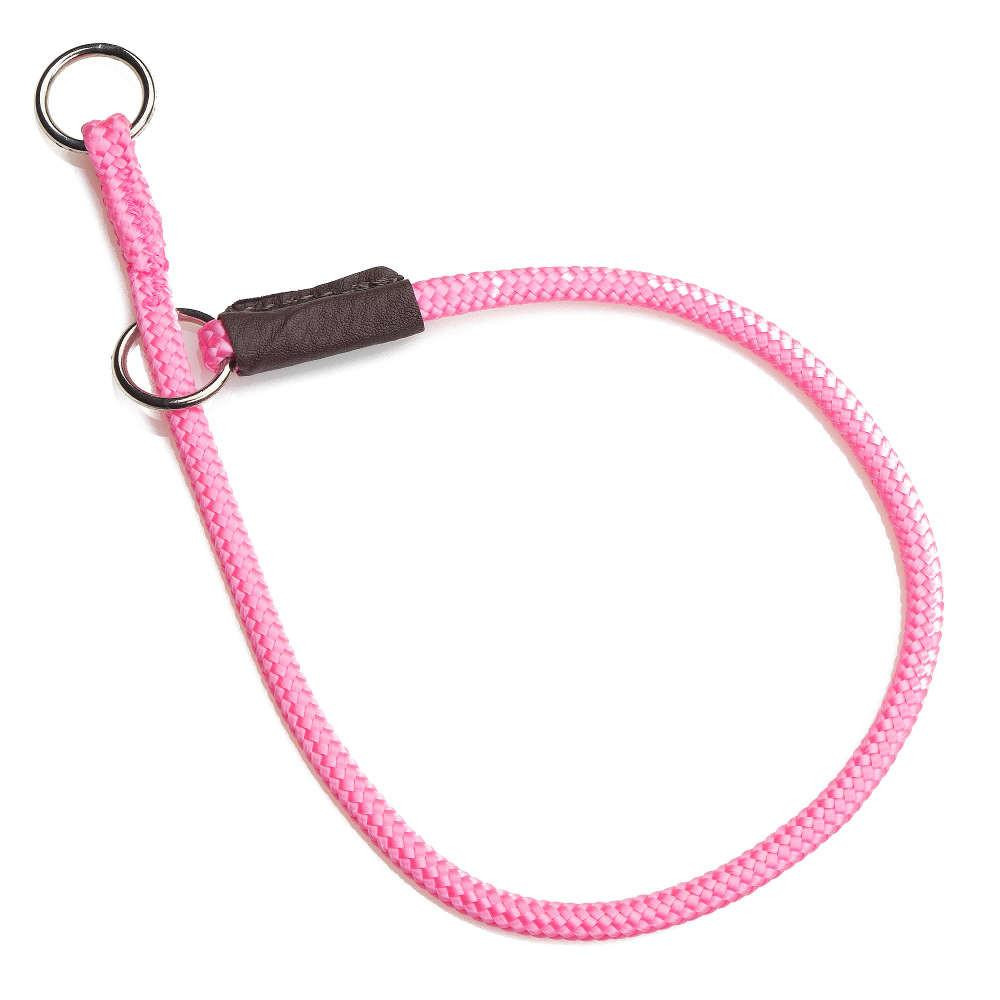 Mendota Diamond Braid Show Slip Collar Pink