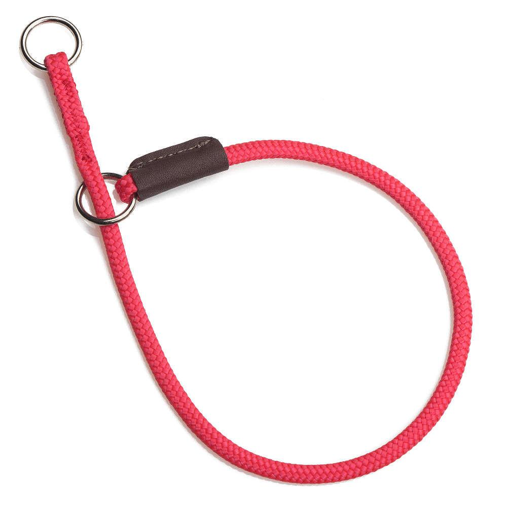 Mendota Diamond Braid Show Slip Collar Red