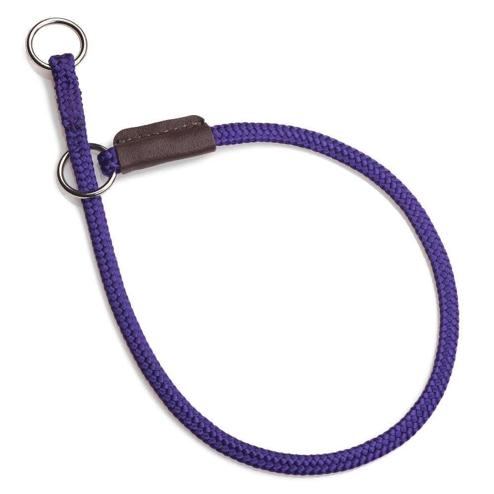 Mendota Diamond Braid Show Slip Collar Purple