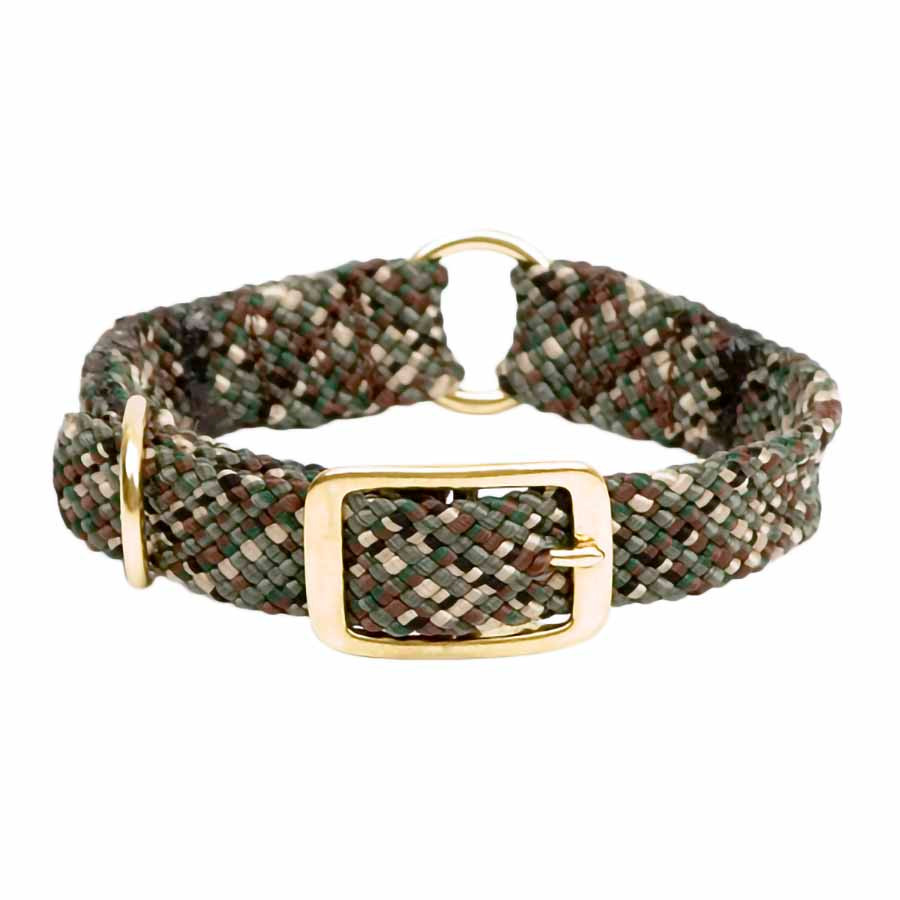 Mendota Double Braid Collar with Center Ring