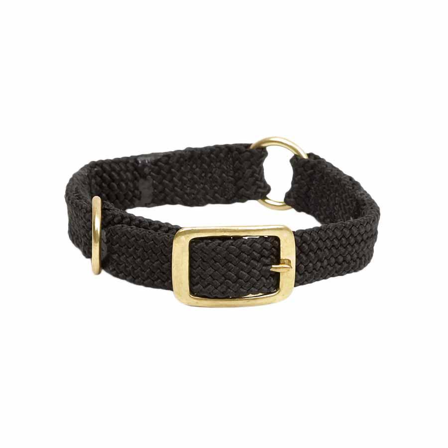 Mendota Double Braid Collar with Center Ring