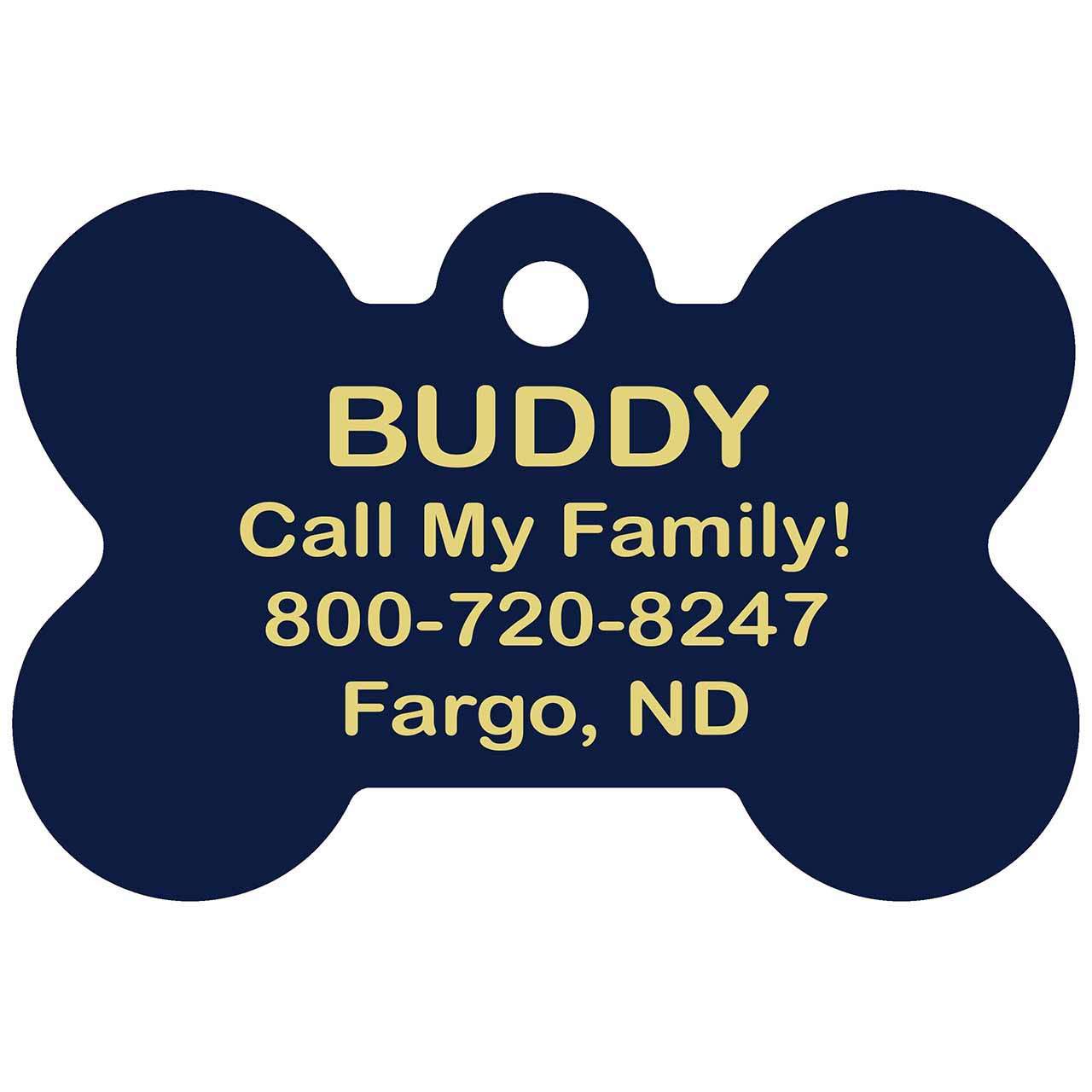 San Diego Padres Dog ID Tags