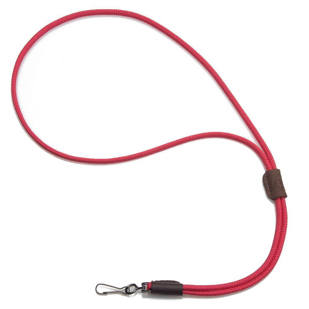 Mendota Braided Whistle Lanyard Single Red