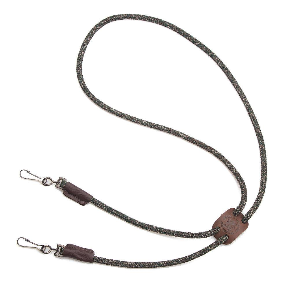 Mendota Braided Whistle Lanyard Double Camo