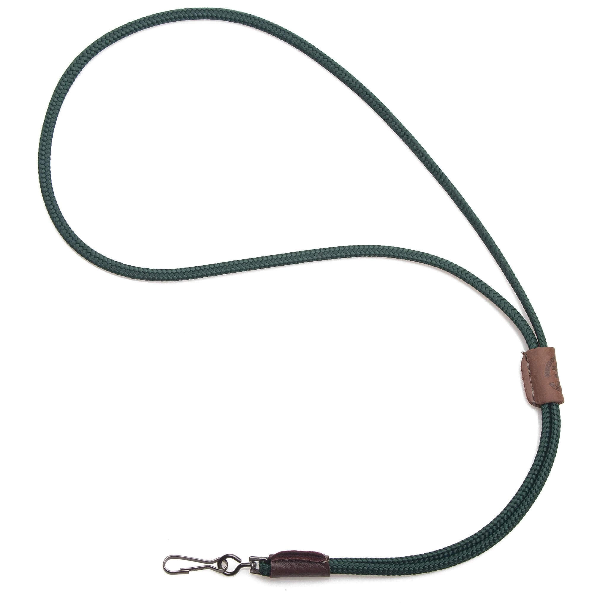 Mendota Braided Whistle Lanyard Single Hunter Green