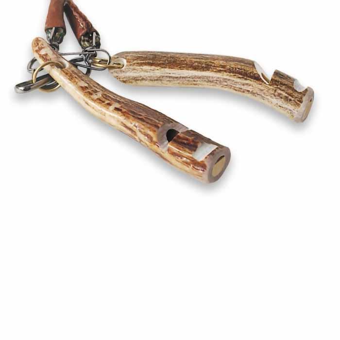 Rocky Mountain Buckhorn Whistle Two on Double Lanyard